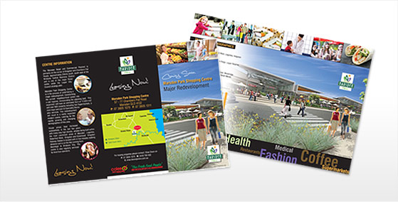 6pg DL Brochure Design