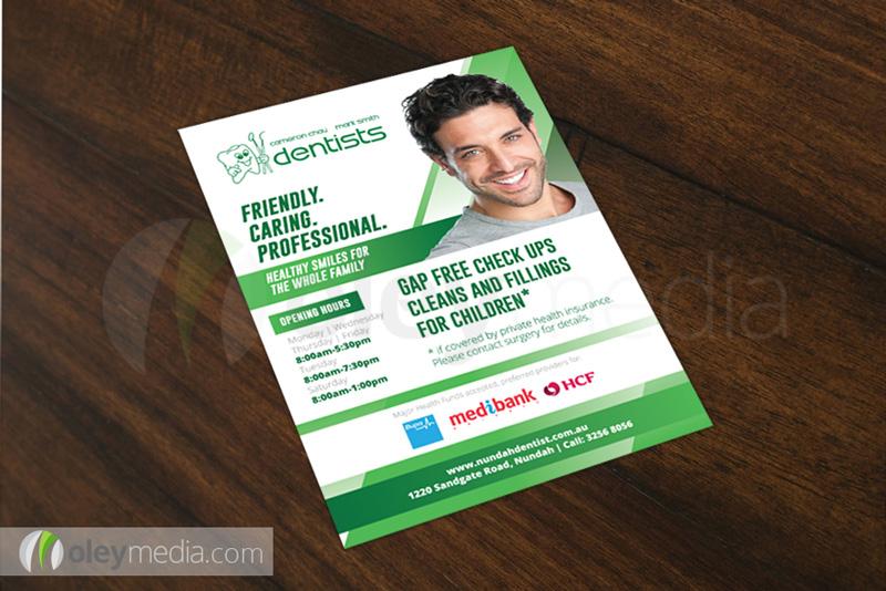 Nundah Dentist A5 Flyer Design