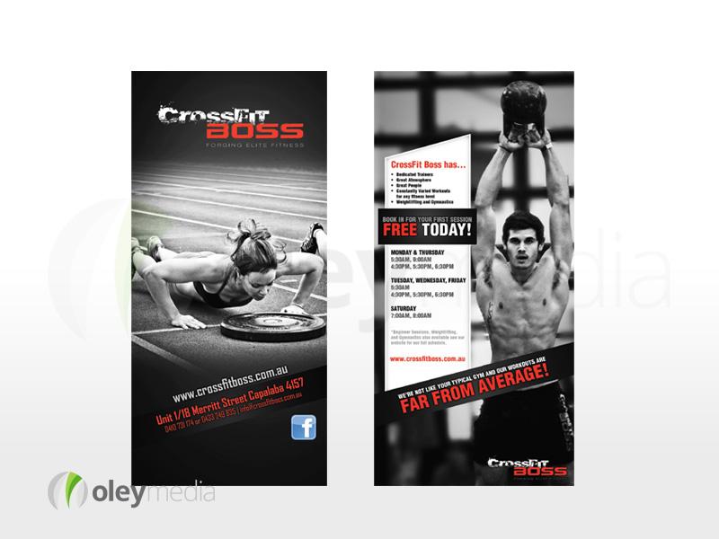 Crossfit Boss 2 Sided DL Flyer Design