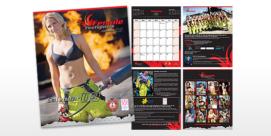 Female Firefighters Posters & Advertising