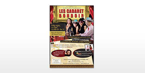 Les Cabaret Posters & Advertising