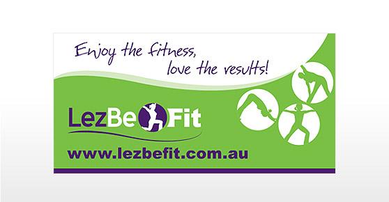 LezBeFit Banner