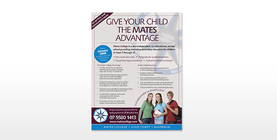 Mates College Posters & Advertising