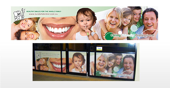 Nundah Dentist Sign Banner