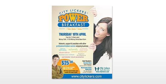 Power Breakfast Posters & Advertising