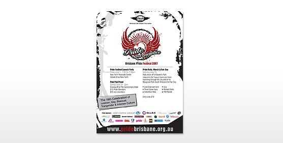 Pride Brisbane Posters & Advertising