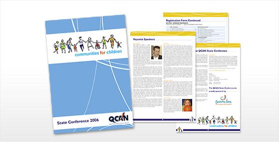 QCAN A4 Presentation Flyer Design