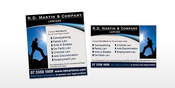 RD Martin & Company Posters & Advertising