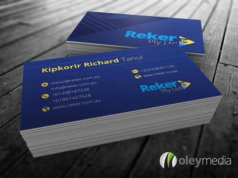 Reker Business Card Design