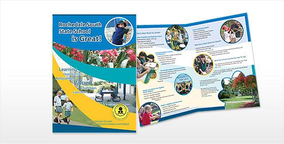 Rochedale South 4pg A4 Brochure Design