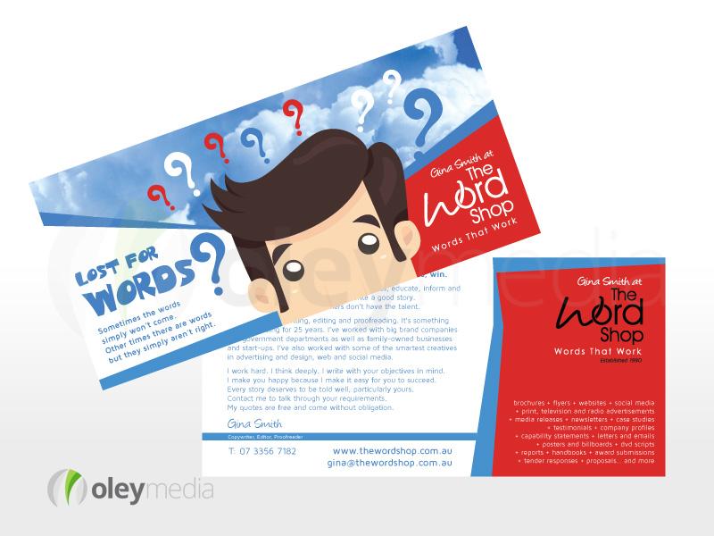 2 sided DL Flyer Design - The Word Shop