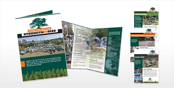 Vinton Tree Services Brochure Design