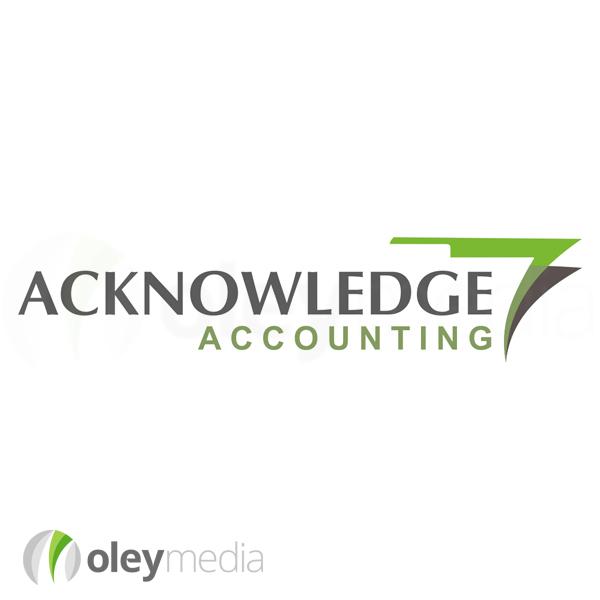 Acknowledge Accounting Logo Design