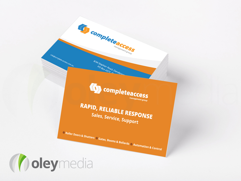 Complete Access Business Card Design