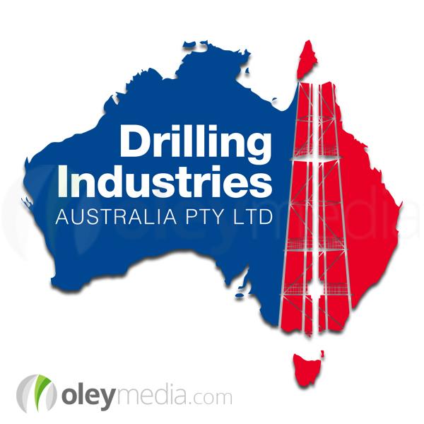 Drilling Industries Australia Logo Design