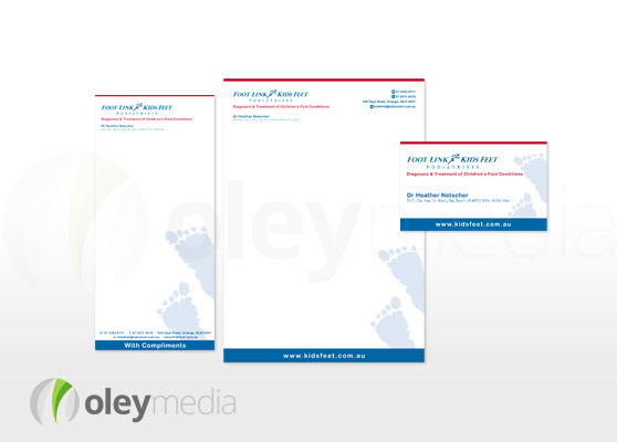 Footlink Corporate Identity Design