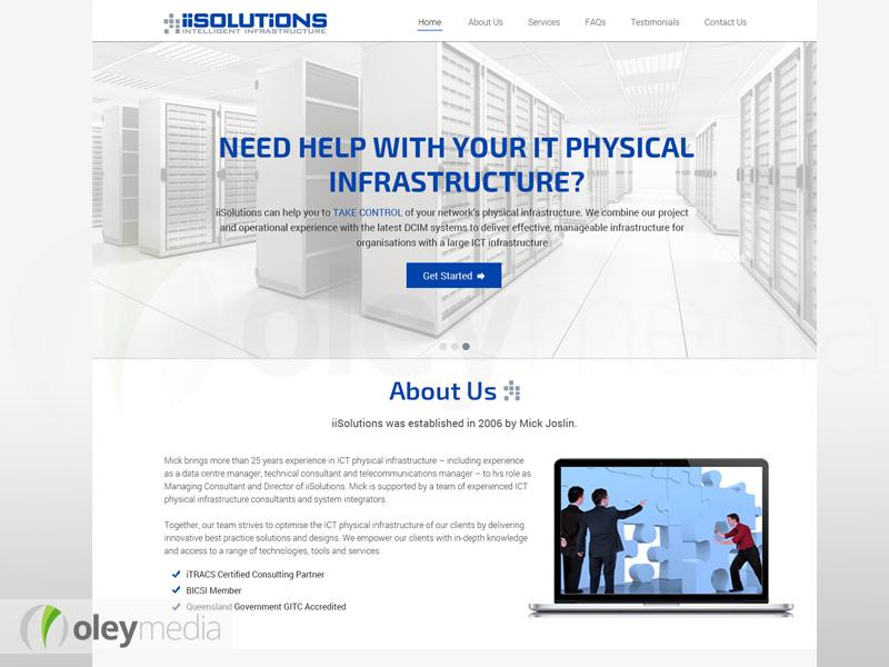 iiSolutions Website Design