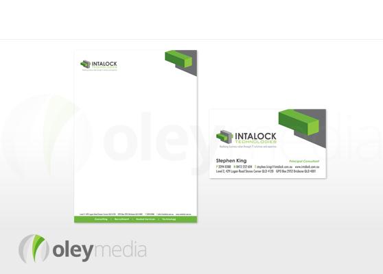 Intalock Corporate Identity Design