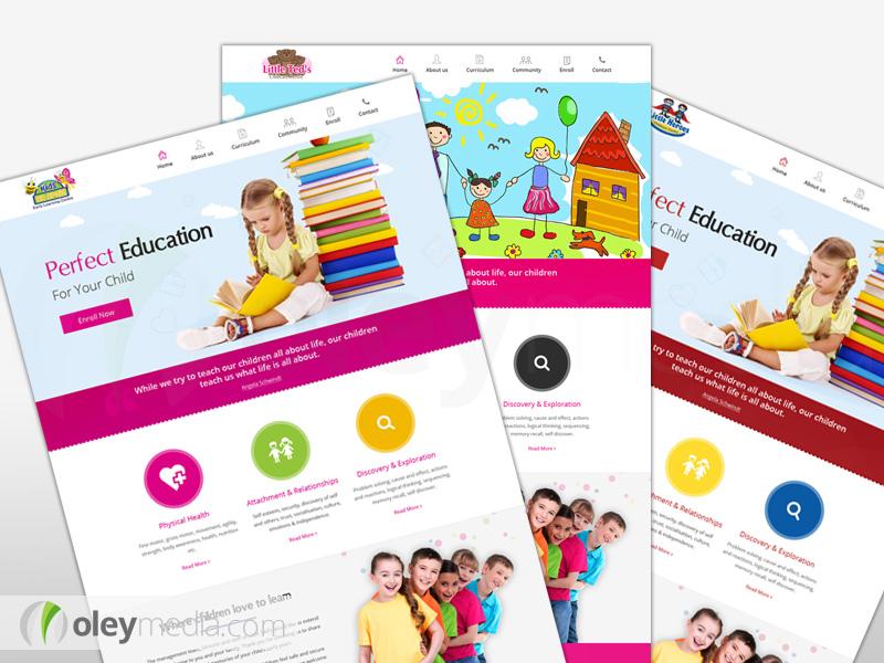 Knight Childcare Website Design