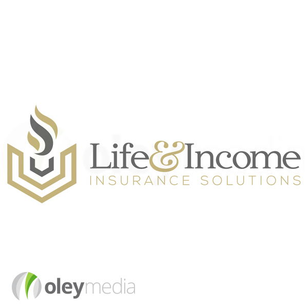 Life Income Insurance Logo Design