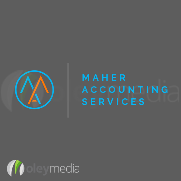 Maher Accounting Services Logo Design