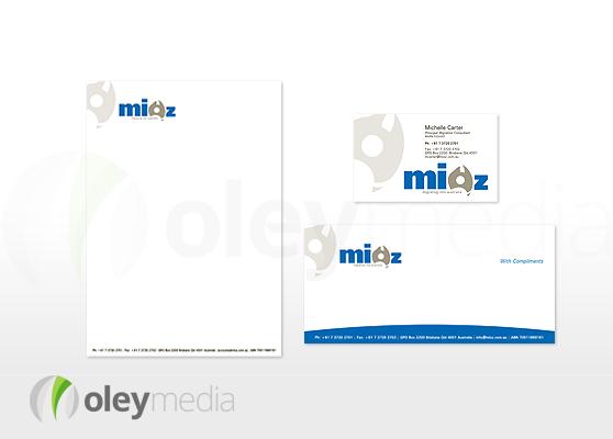 MIOZ Corporate Identity Design