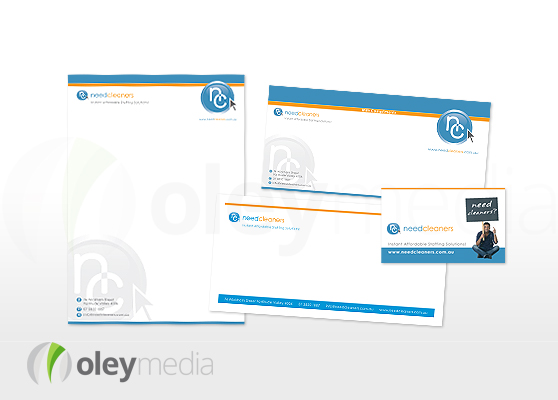Need Cleaners Corporate Identity Design