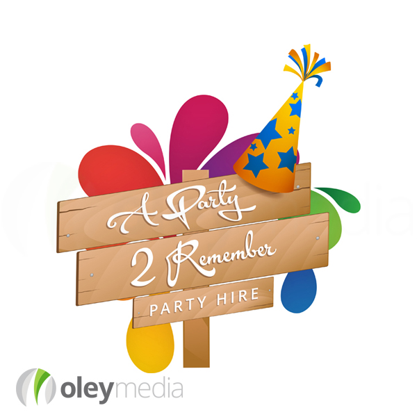 Party 2 Remember Logo Design