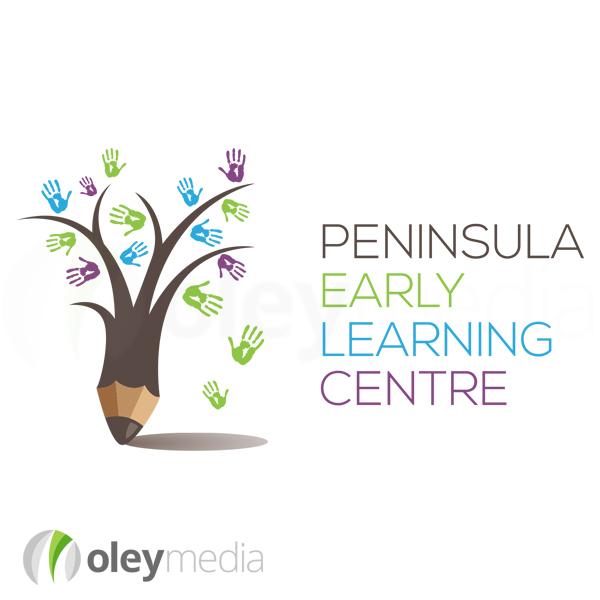 Peninsula Early Learning Centre Logo Design