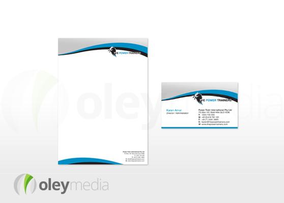 Power Trainers Corporate Identity Design