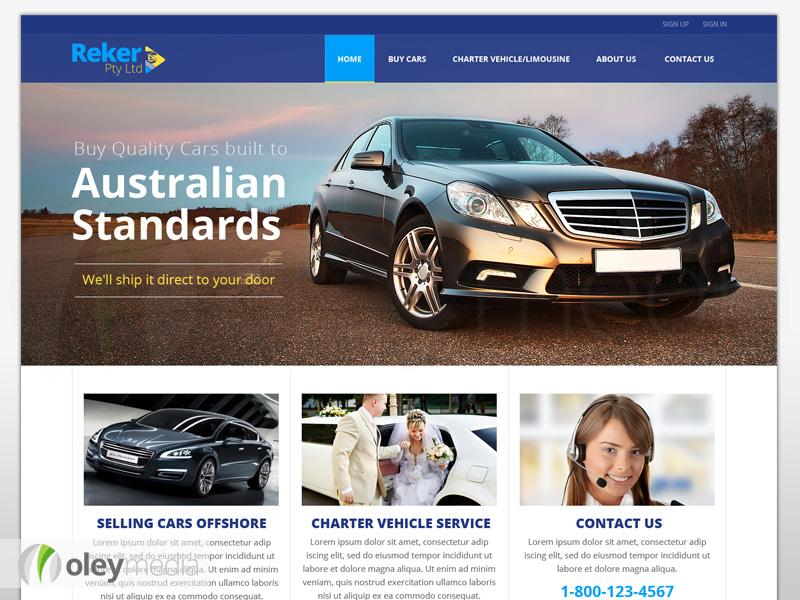 Reker Website Design