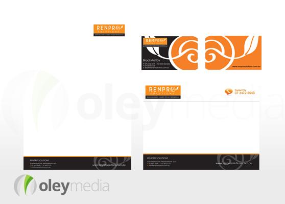 Renpro Solutions Corporate Identity Design