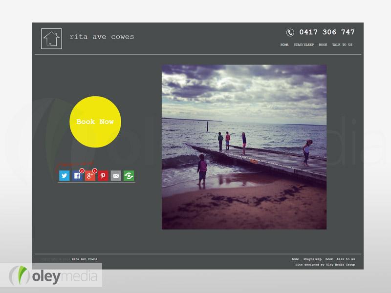 rita ave cowes website design