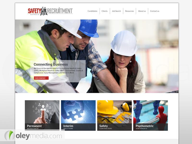 Safety Recruitment Website Design