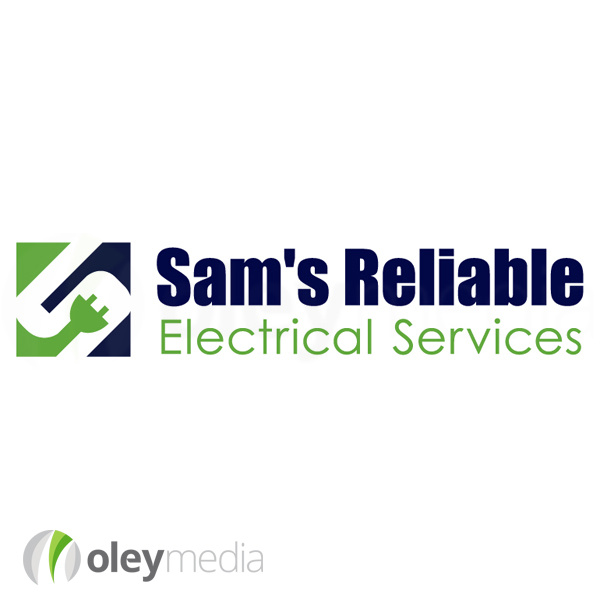 Sam's Reliable Electrical Services Logo Design