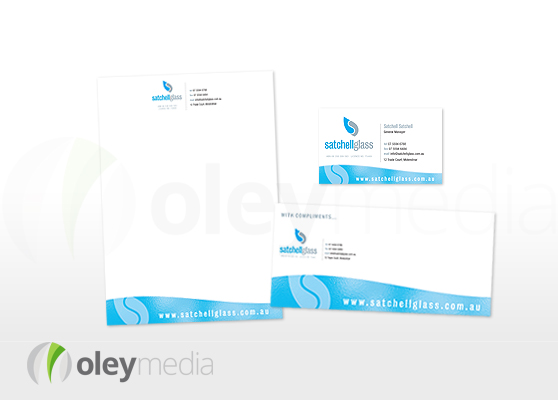 Satchell Glass Corporate Identity Design