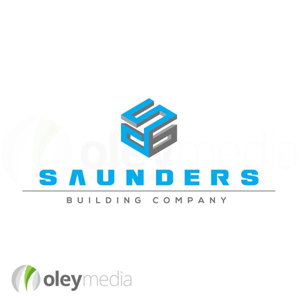 Saunders Building Logo Design