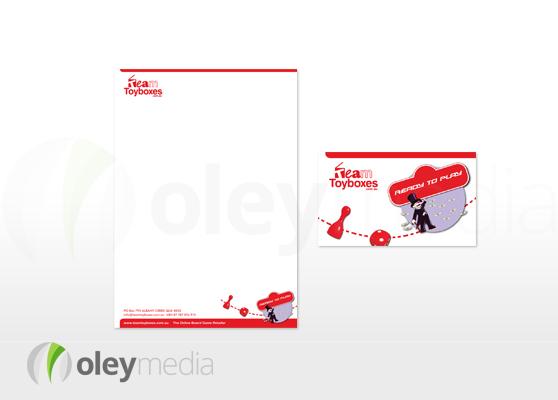 Team Toyboxes Corporate Identity Design