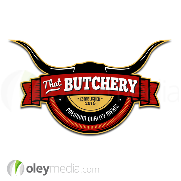 That Butchery Logo Design