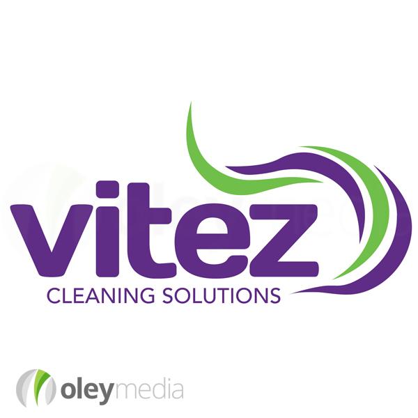 Vitez Cleaning Solutions Logo Design