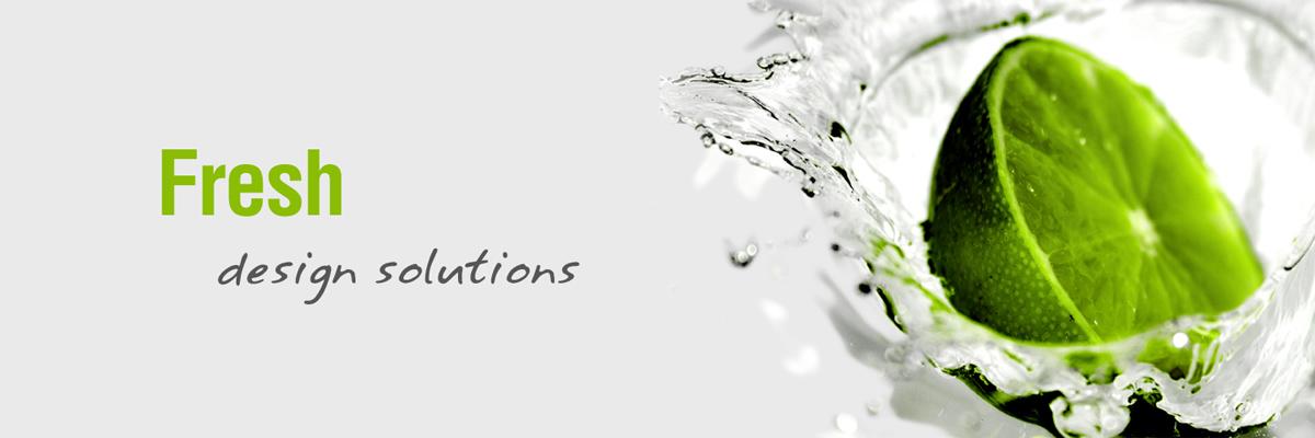 Website design fresh solutions