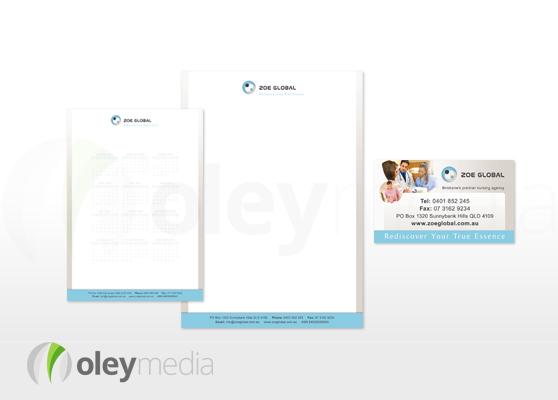 Zoe Global Corporate Identity Design